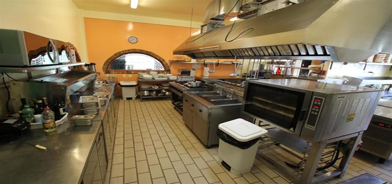 Instalações Pizzaria