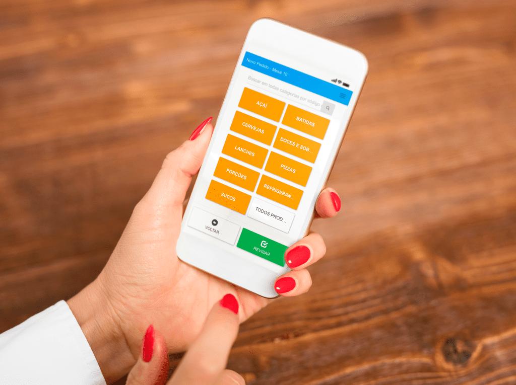 Sistema de Comandas com Celular e Tablet para Restaurantes