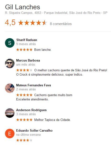feedback-Gil-Lanches-Rio-Preto