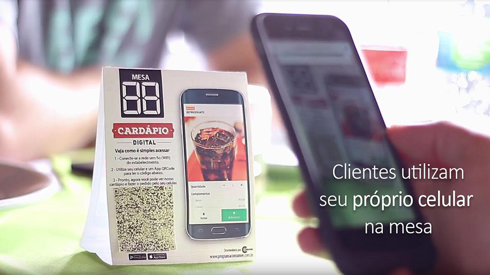 Cardápio Digital para Restaurantes Integrado e de Baixo Custo