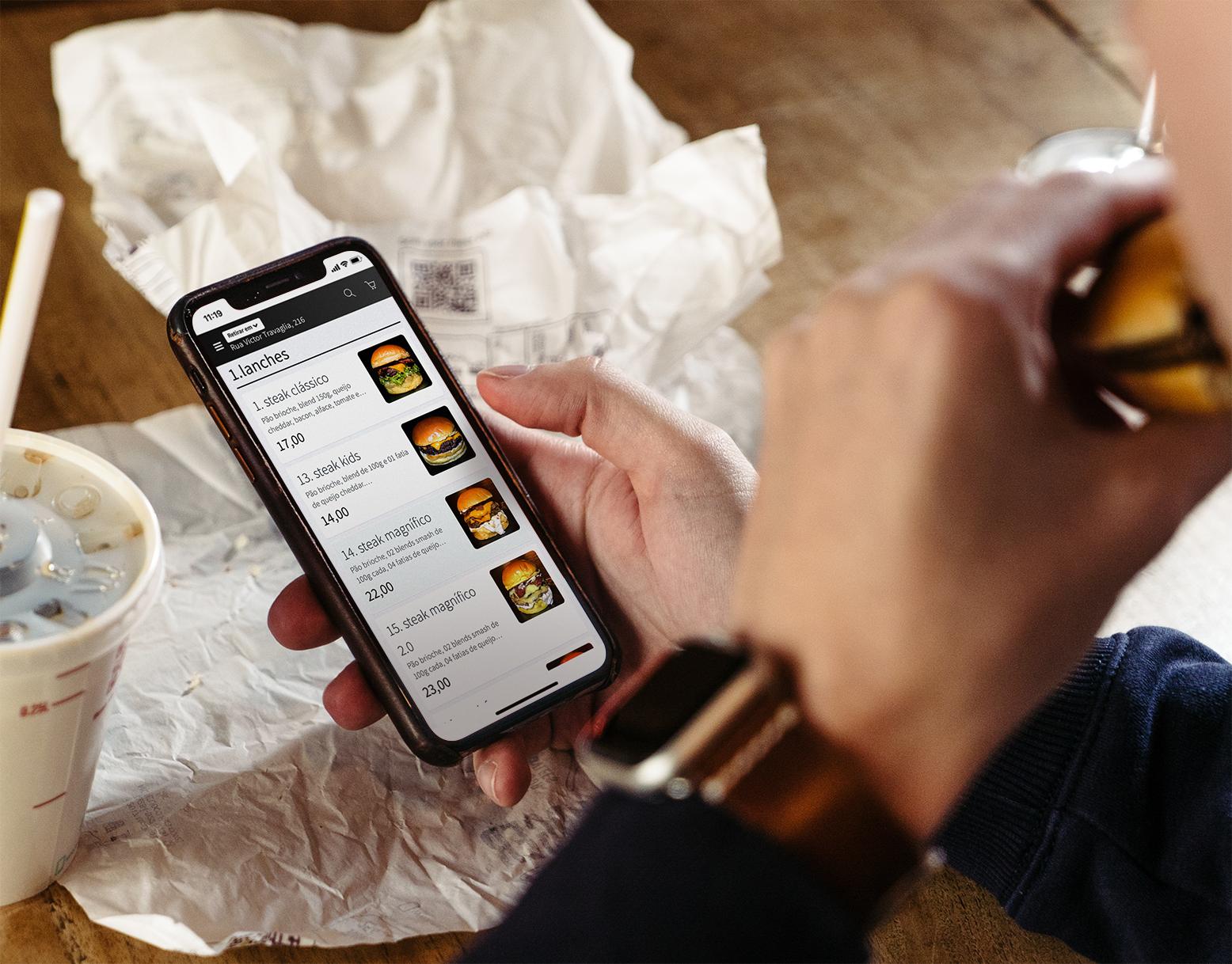Indo Além: Grandes Restaurantes Apostam no Aplicativo Delivery Próprio