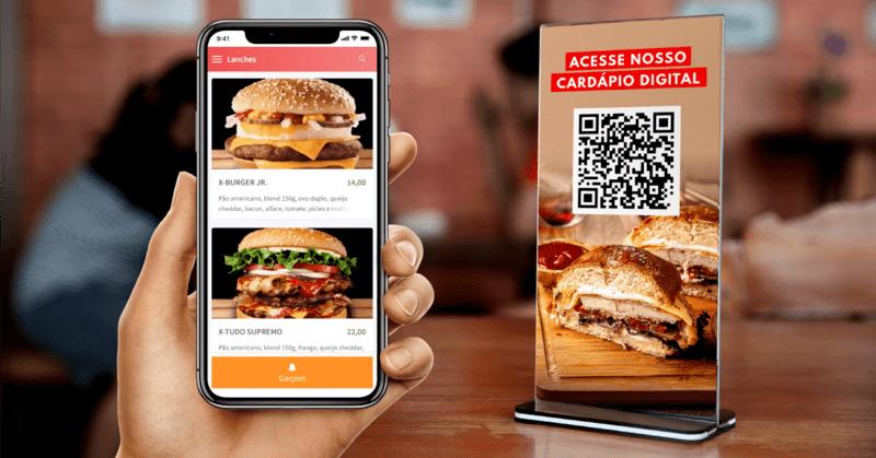 Restaurantes usam Cardápio QR Code para Atendimento Seguro