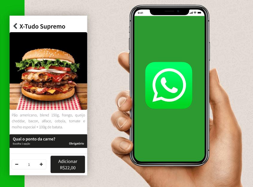 Como Receber Pedidos pelo Whatsapp e ter um Delivery Grátis?
