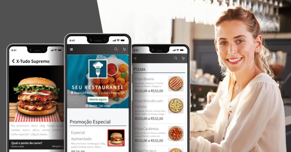 menudino e empreendedora da alimentação