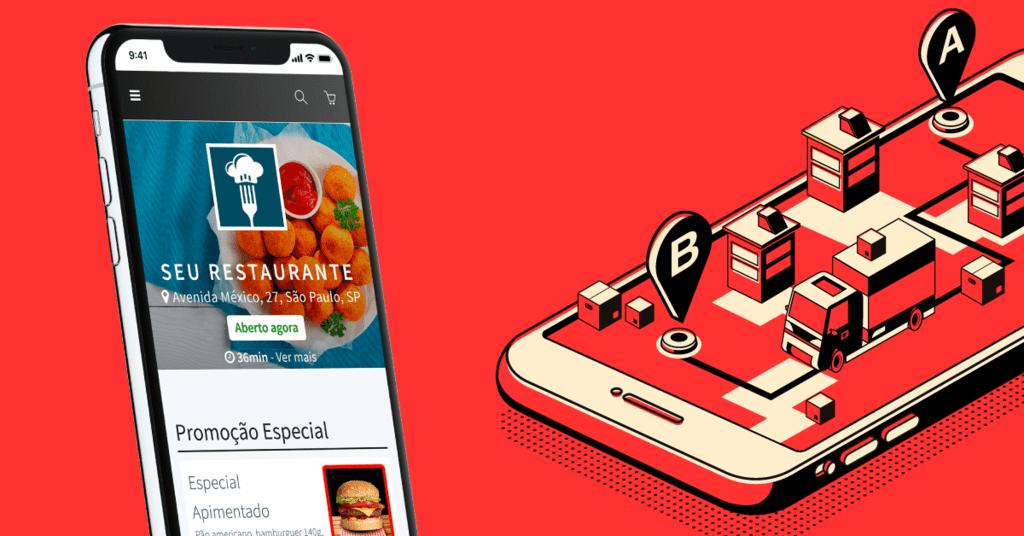 consumer 13 rota otimizada app do entregador