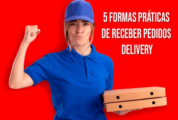 receber pedidos delivery