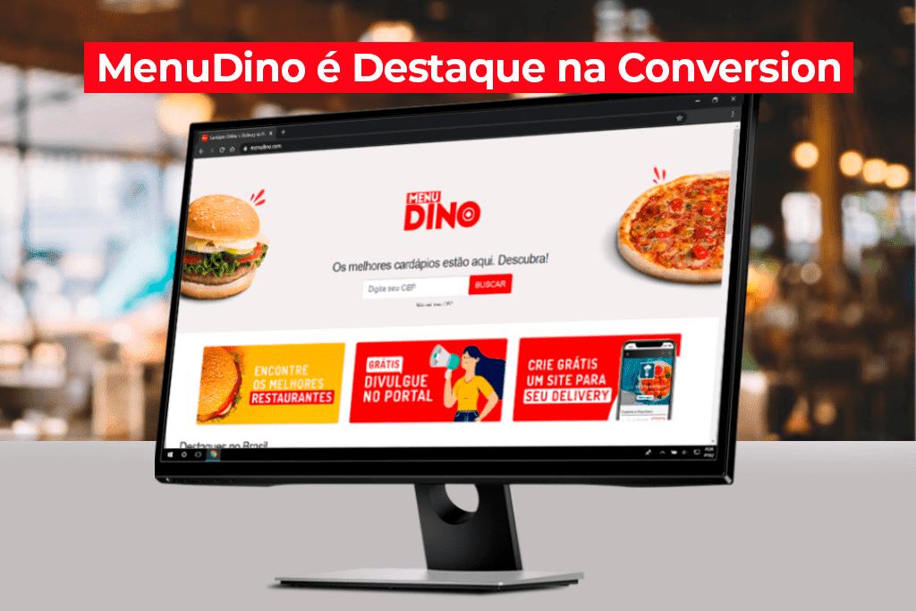 MenuDino é Destaque na Conversion em Pesquisa sobre e-Commerce