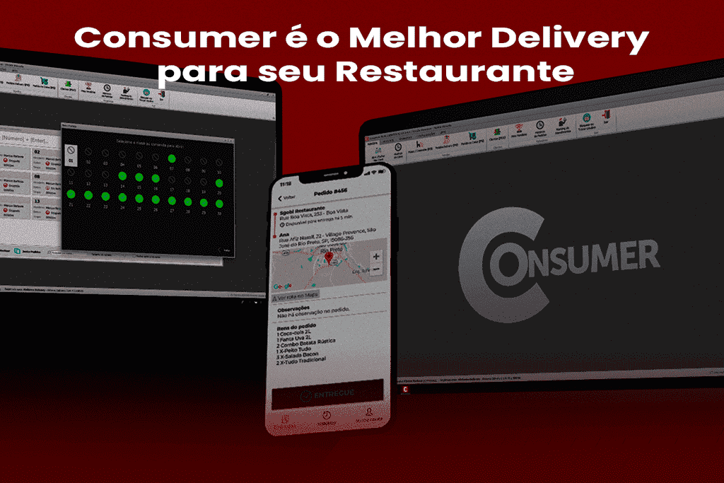 Anota aí Porque o Consumer é o Melhor Delivery para seu Restaurante