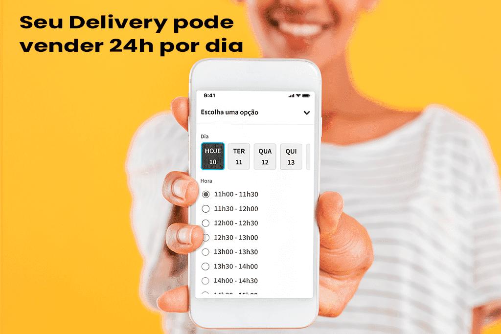 MenuDino Lança Recurso para o seu Delivery Vender 24h Por Dia