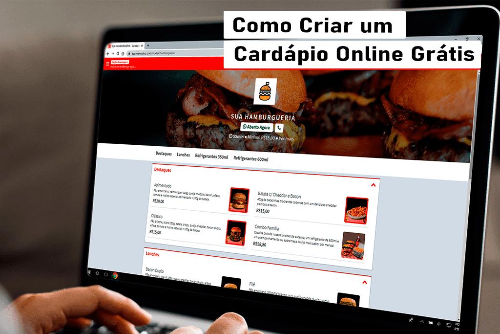 Como Criar um Cardápio Online e Site Delivery 100% Gratuitos?