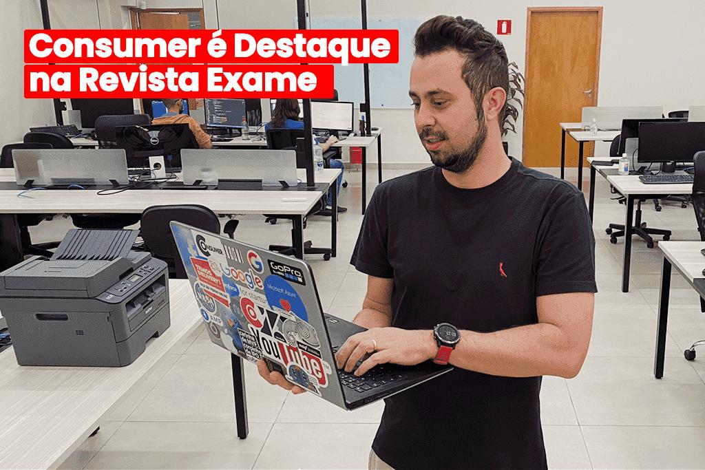 Parceria Google e Consumer Ganha Destaque na Revista Exame